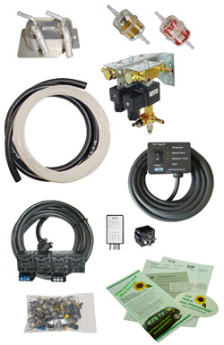 SVO PPO WVO conversion System Kit fuel alternative to Diesel
